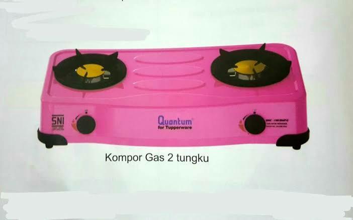 Kompor Gas Quantum logo Tupperware