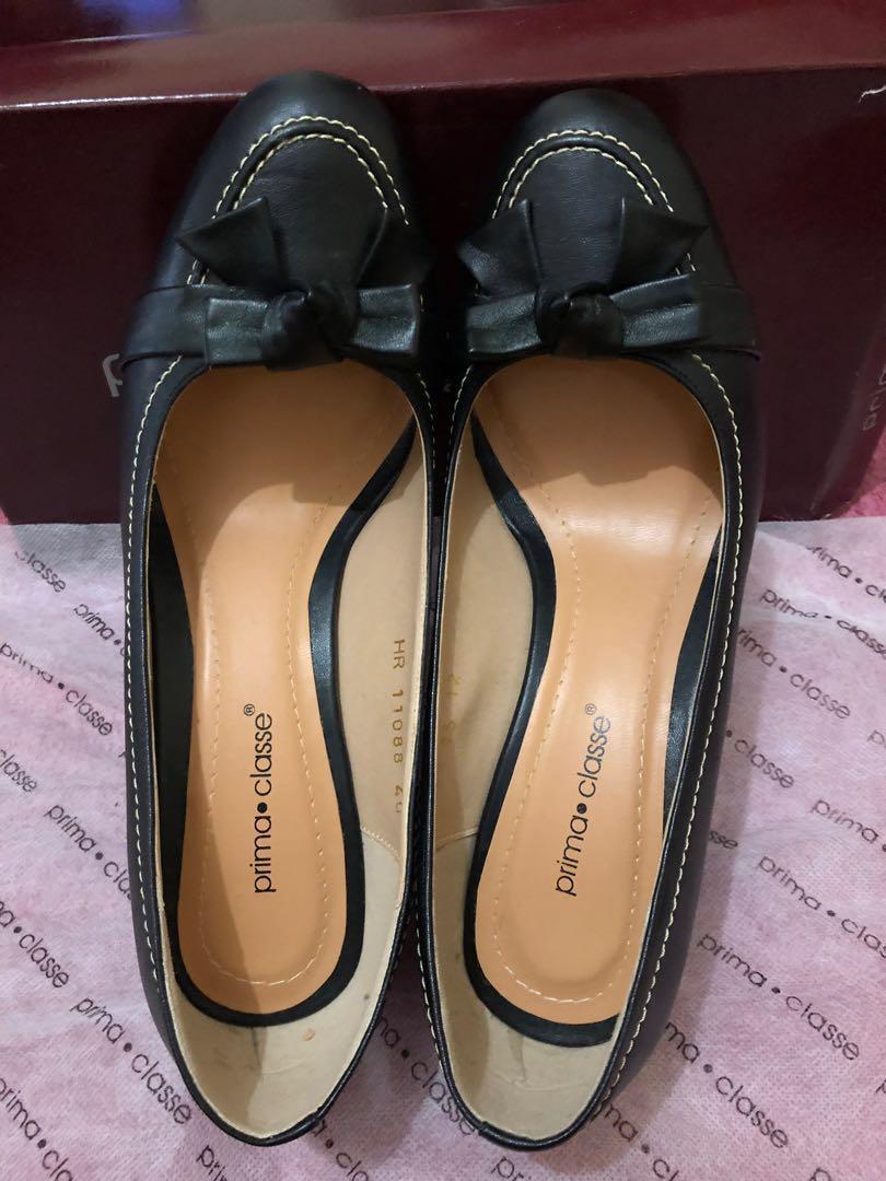 #mauthr prima classe ali viola high wedges shoes 11088-black