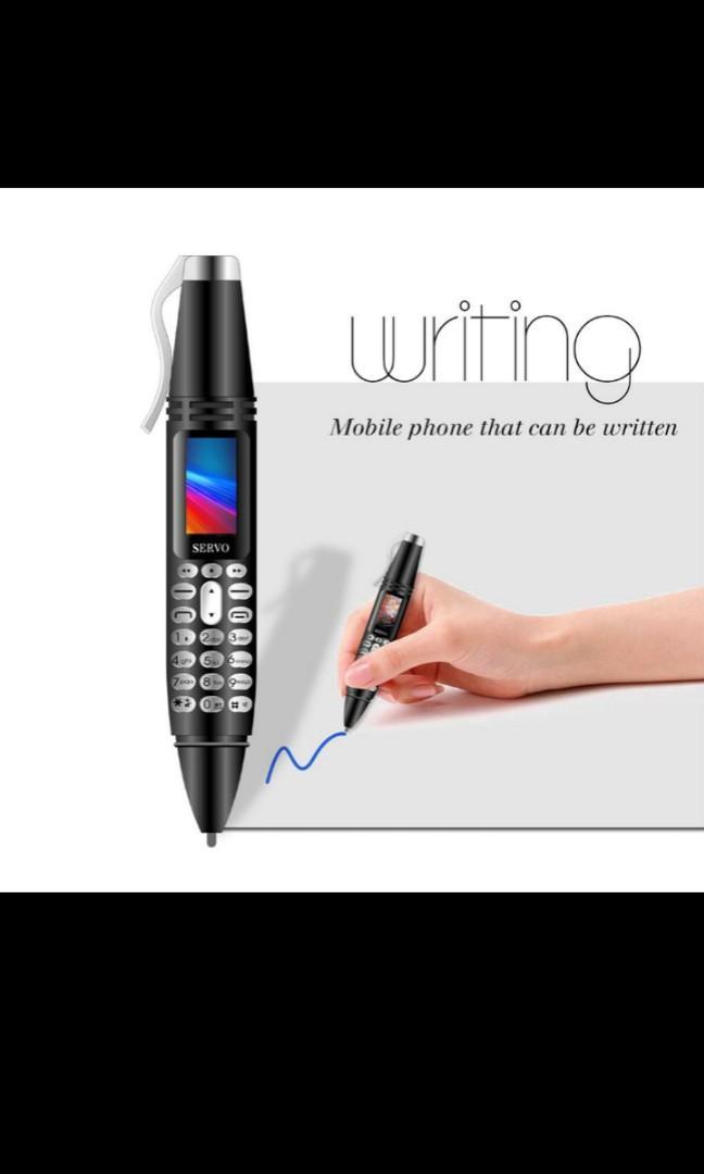 Mobile pen phone plus, mp3, plus jpeg, plus flashlight,plus camera JPEG