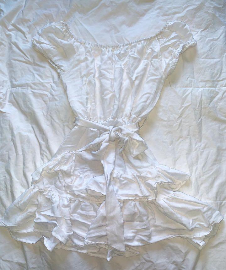 My Girl (Showpo) Sticks and Stones Dress in White - AU Size 6