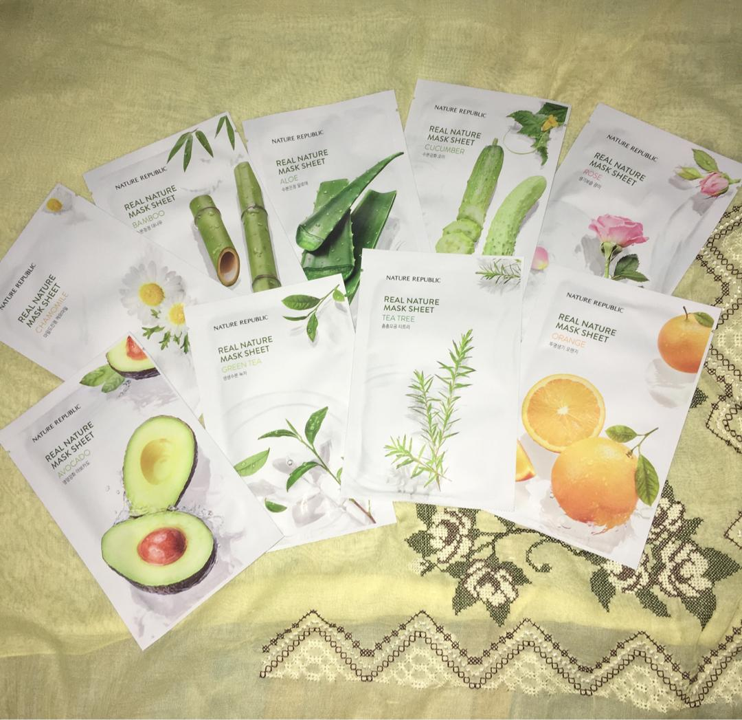 #LalamoveCarousell BUY 5 FREE ONGKIR Nature Republic Sheet Mask