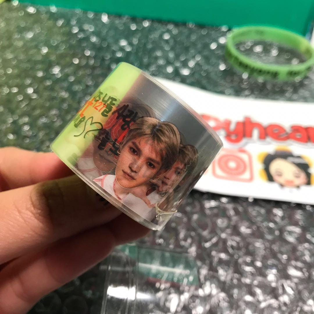 NCT127 TAEYONG Set - Roll transparent sticker (Neo city in Seoul)