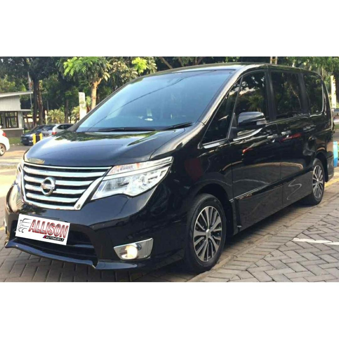 Nissan Serena HWS Automatic 2016, Dp 59,9 Jt Top Condition No Pol Ganjil
