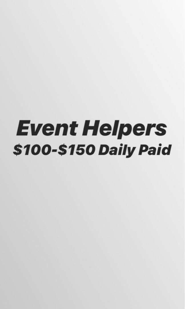 Part/Full Time Events Helpers