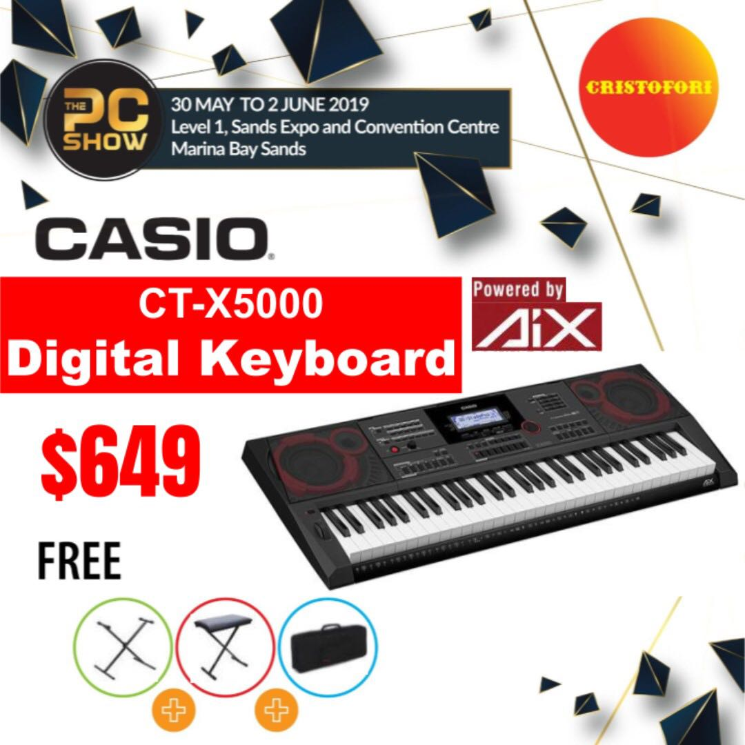 (PCshow) Keyboard Digital CASIO CT-X5000
