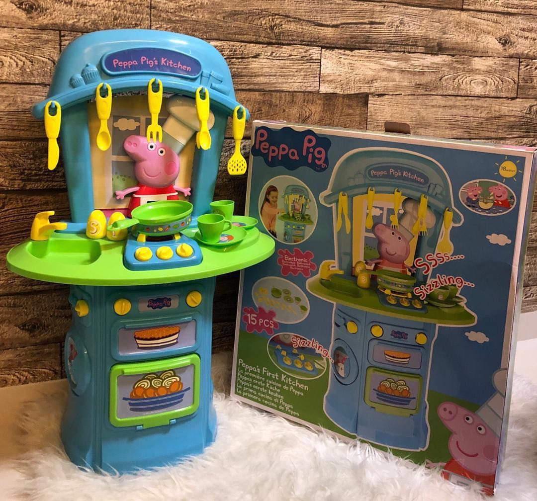 Peppa S First Kitchen Set Little Tikes Step2 Fisher Price