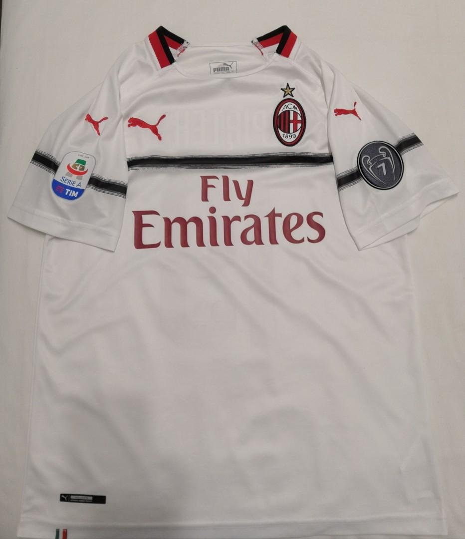 Replica AC Milan Jersey Size M 18/19 (price reduced)