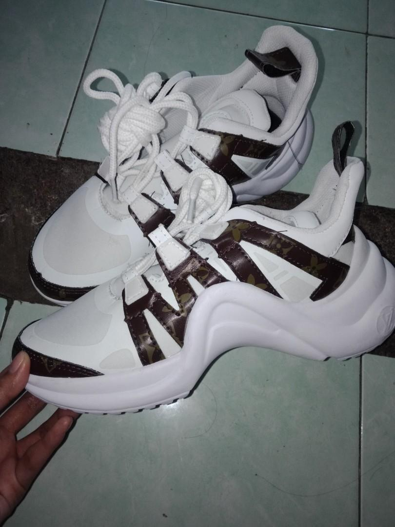 sneakers LV archlight white