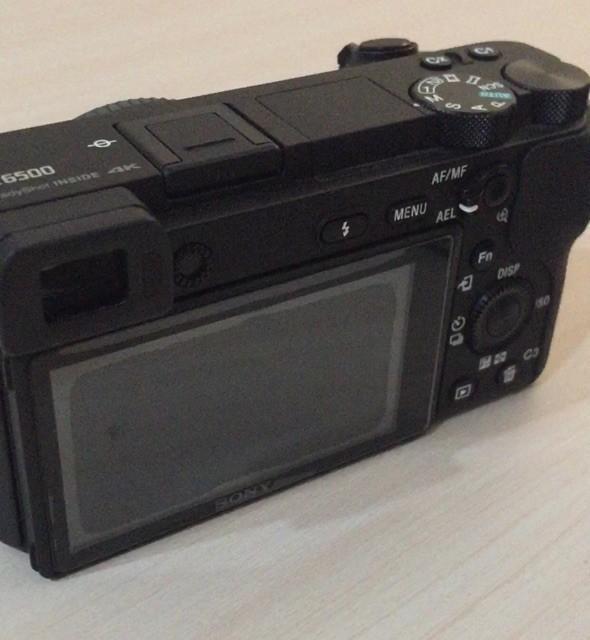 Sony A6500 Kondisi sangat baik garansi RESMI sony indonesia