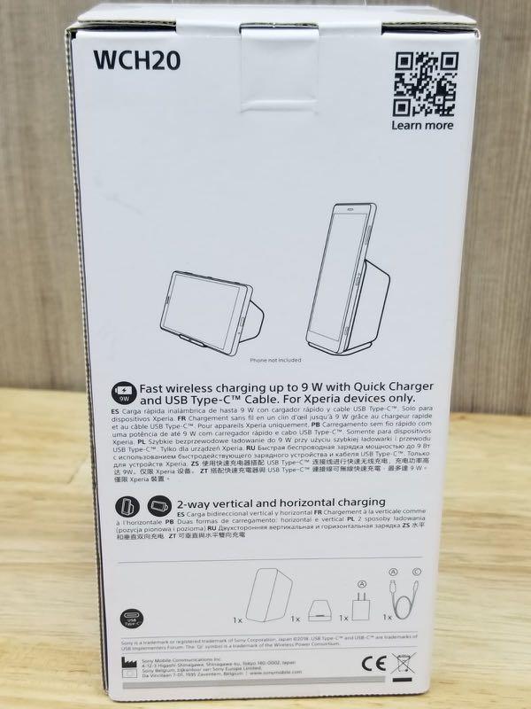 Sony wch20 無線充電底座 wireless charging dock  (💯%全新New)