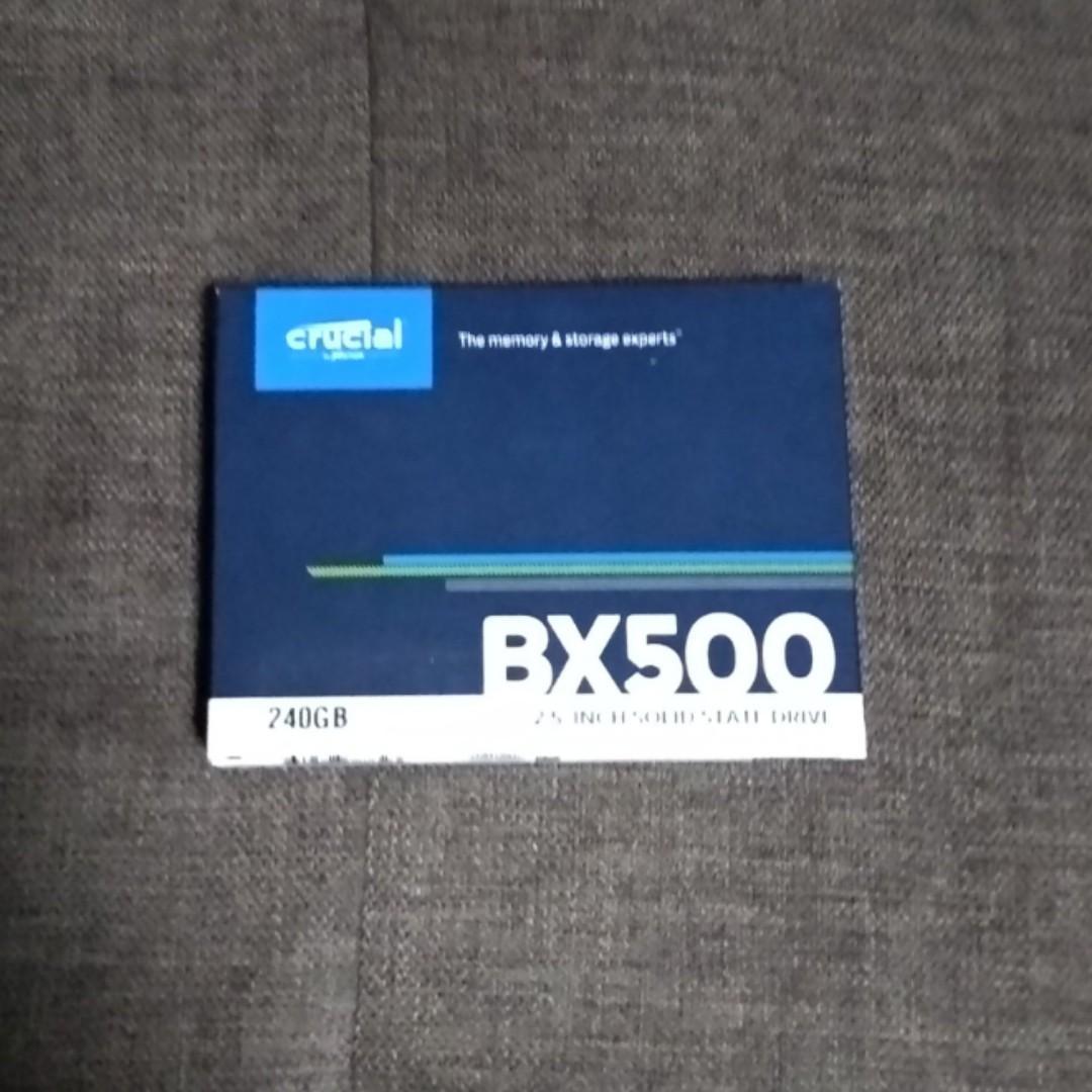 Ssd 240gb 2 5 inch sata 3 crucial bx500, Electronics