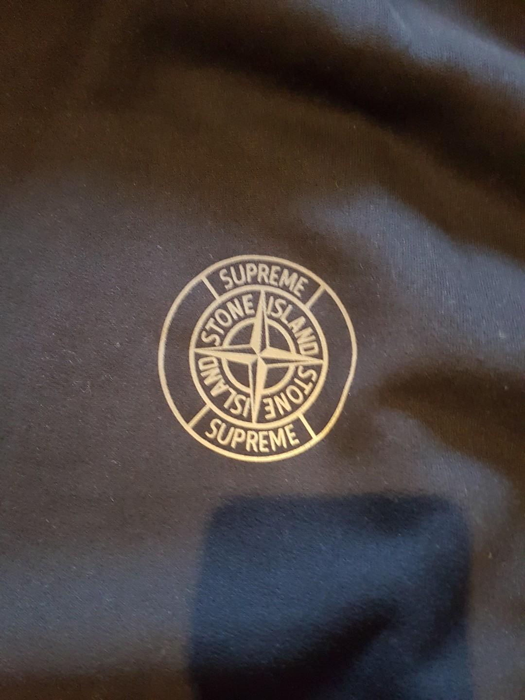 Supreme x Stone Island Hooded Sweatshirt