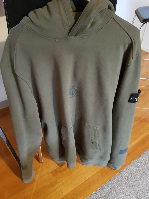 Supreme x Stone Island Hooded Sweatshirt
