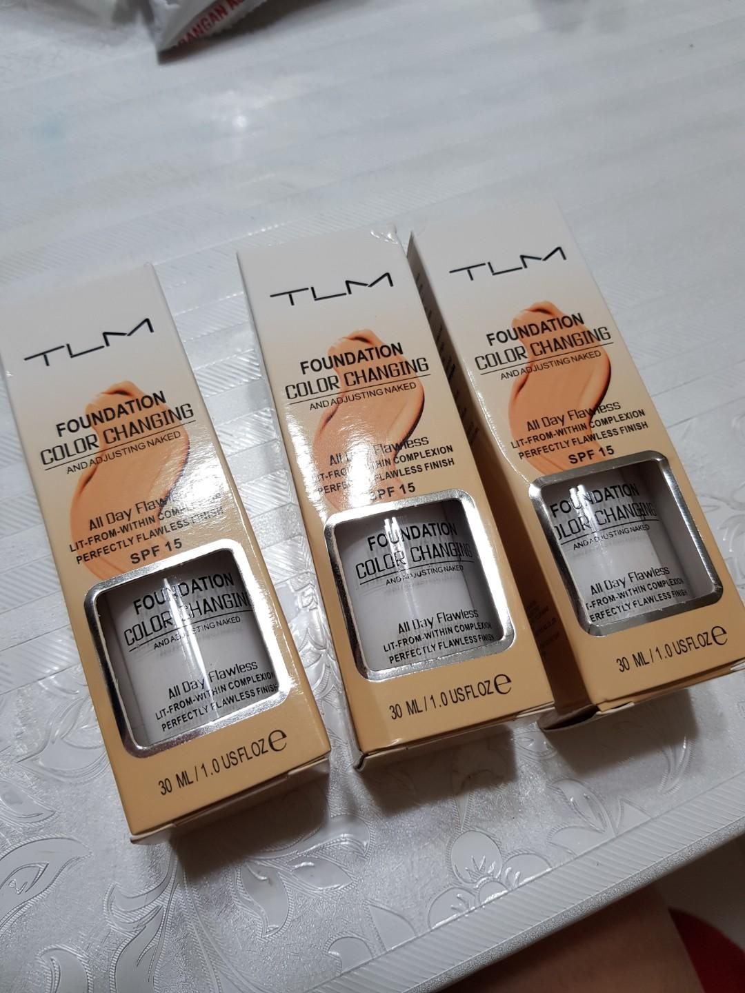 INSTOCK TLM colour changing foundation, Health & Beauty