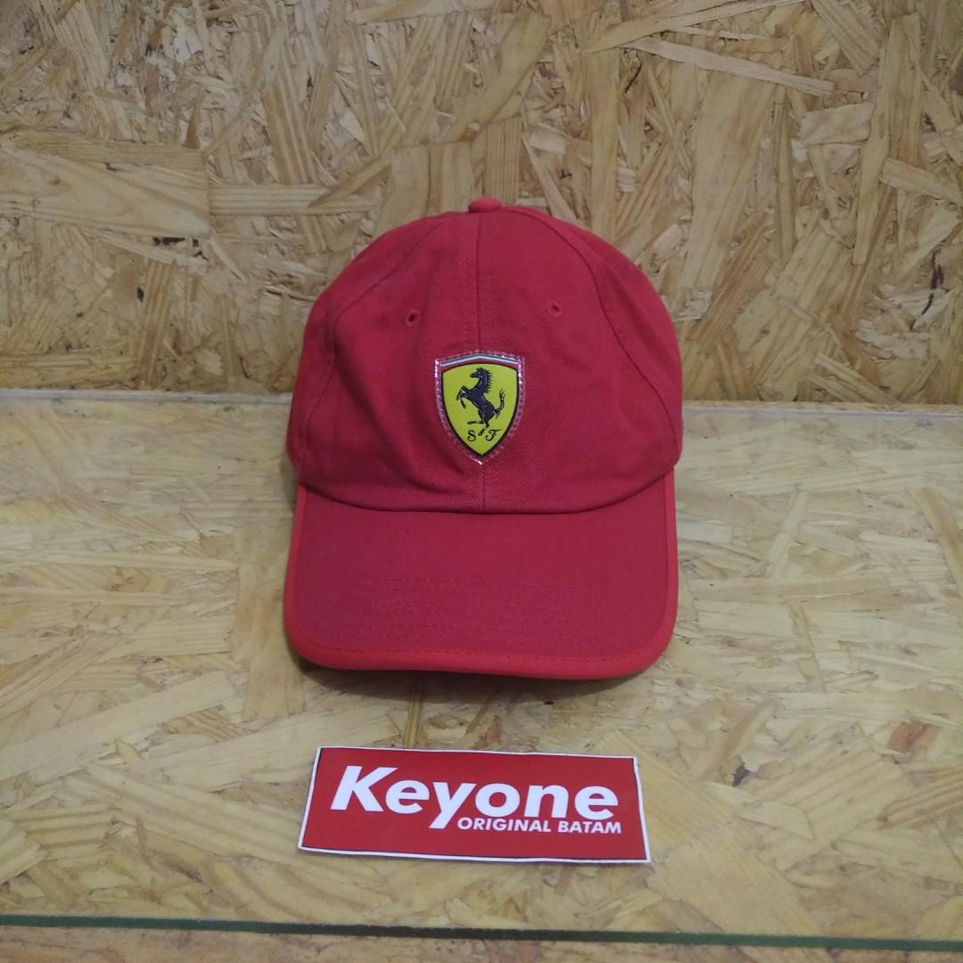 Topi Puma x Ferrari Red Strapback Cap Original
