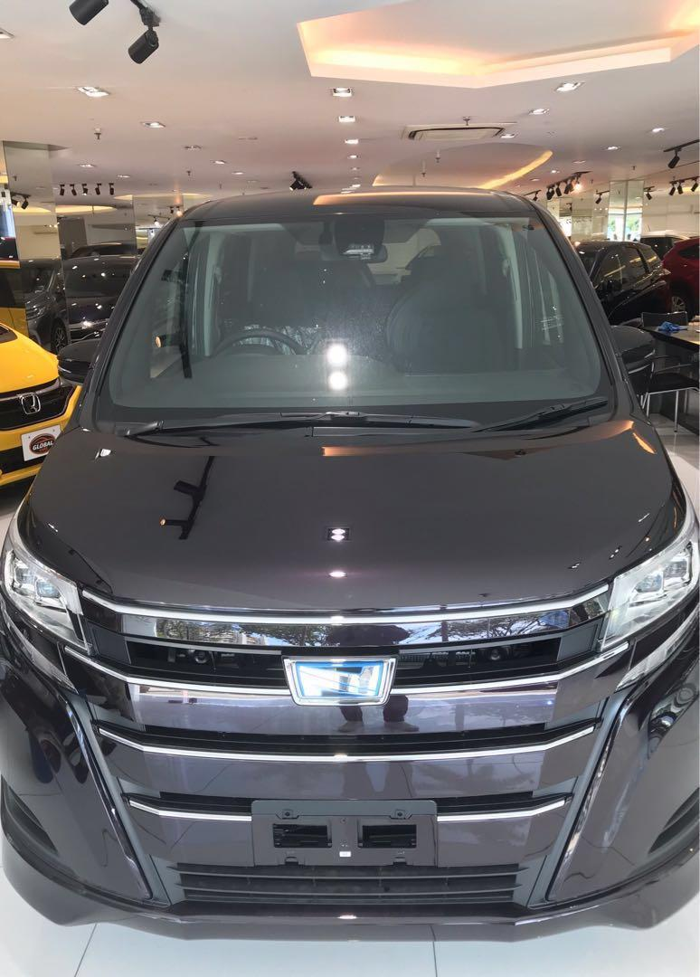 Toyota Noah(New) for Rental !