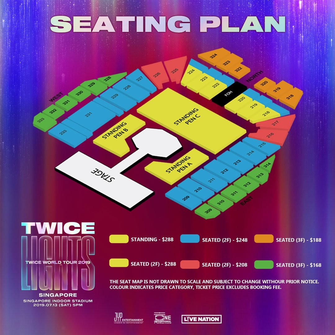 [URGENT] WTS One Twicelights Singapore CAT 2 ticket