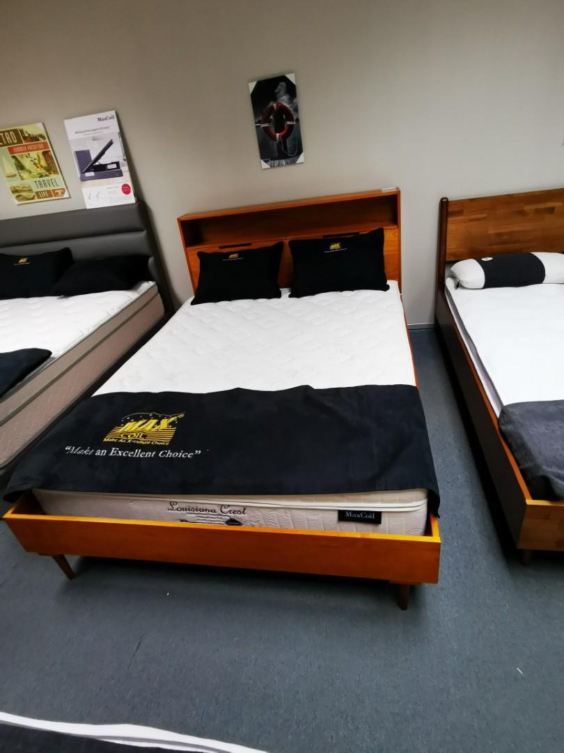 Vintage Danish Bed Frame Foreign Size Furniture Beds Mattresses On Carousell