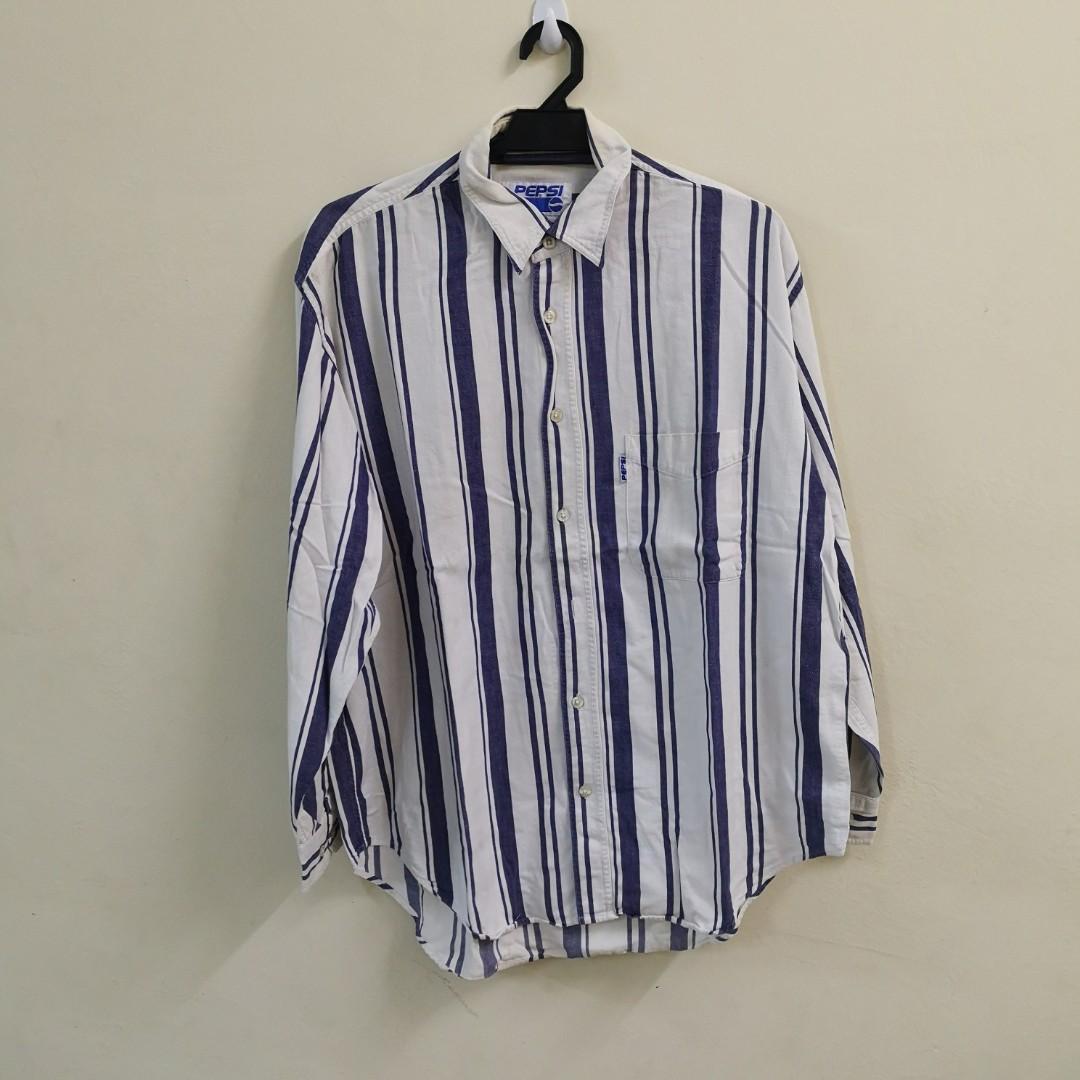 Vintage Pepsi Stripe Shirt