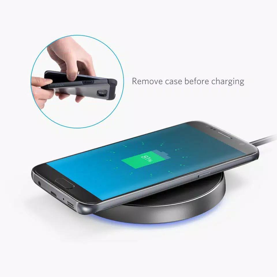Wireless Charger Anker PowerPort Qi 10 UN A2513011 Black