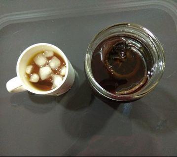 Homemade lemonade syrup with rock sugar (600g)