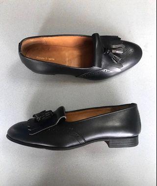 日本製 Hender scheme 流蘇 樂福 皮鞋 雕花 US9 紳裝 IVY
