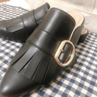 尖頭穆勒鞋