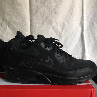Nike Airmax 90 Essential Triple Black #GayaRaya