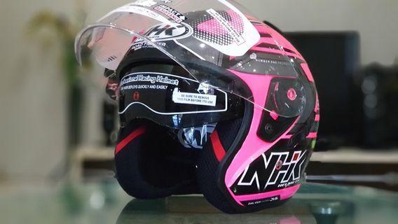 NHK Helmet double visor