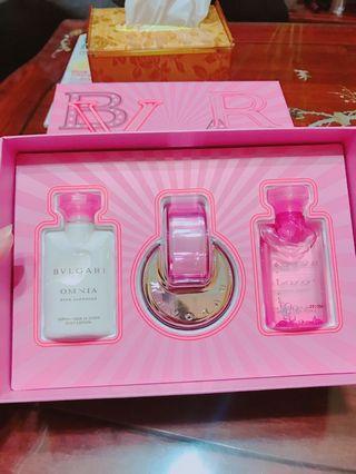 寶格麗粉晶女性淡香水禮盒