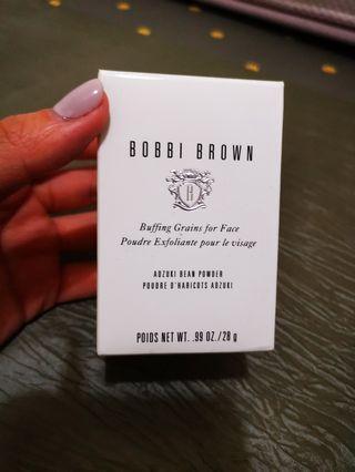 清 $150 bobbi brown 紅豆粉 buffing grains - 磨砂 (只郵寄不面交)