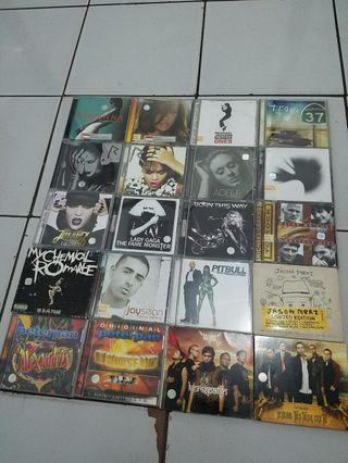 CD ALBUM RIHANNA LINKIN PARK JAY SEAN LADY GAGA JESSIE J MICHAEL JACKSON PETERPAN KERISPATIH AVRIL LAVIGNE