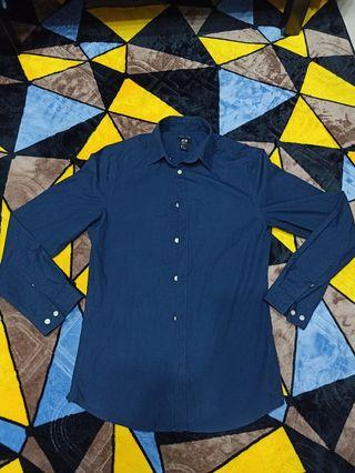 H&M Dark Blue T-Shirt