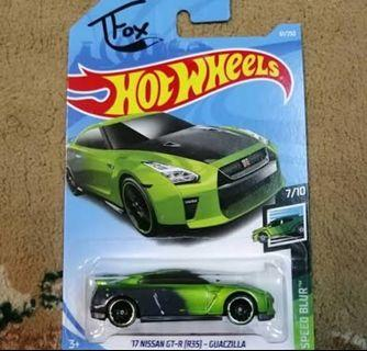 Hotwheels Nissan R35