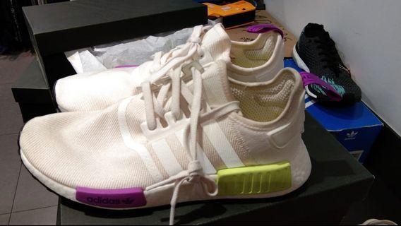 Adidas NMD R1 Chalk White