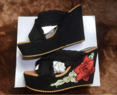 Wedges by Theflickstore (BLACK)