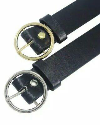 Ring Belt Silver
