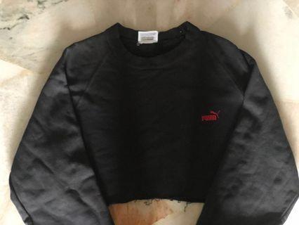 puma crop top/ sweater