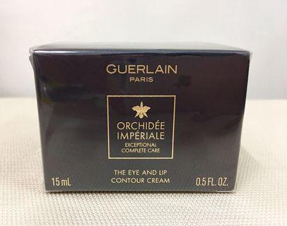 Guerlain 嬌蘭 Orchidee Imperiale The Eye and Lip Contour Cream  御庭蘭花 眼唇再造修護霜 15ml