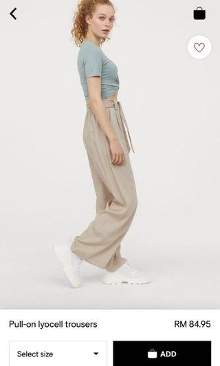 trousers pull on