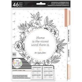 *Bundled Sale* - Happy Planner® Home Extension Pack (Classic) & Menu Sticker Rolls