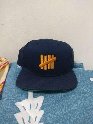 正版 正品 UNDEFEATED 棒球帽 後扣帽 Snapback