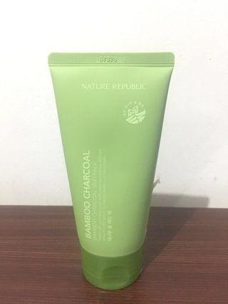 Nature Republic Bamboo Charcoal Mud Pack Preloved