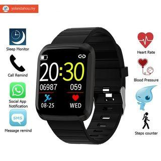 New Smart Watch Men Bluetooth Fitness Bracelet Sports IP67 waterproof watches