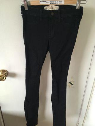 Hollister super skinny black jeans