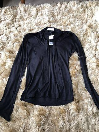 Forever 21 cardigan sweater hitam