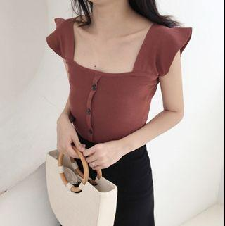 Korean Knitted Top