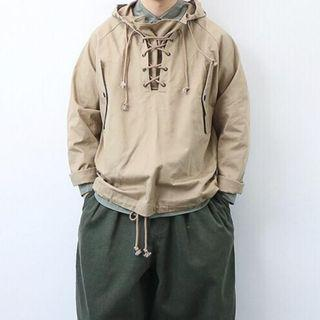 WORKWARE 18FW - WEATHER COAT KHAKI (M) Goopi 孤僻