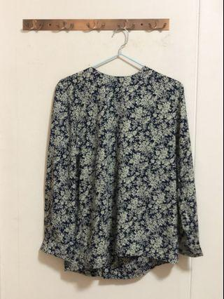 Thingamajigs Vintage Floral Blouse