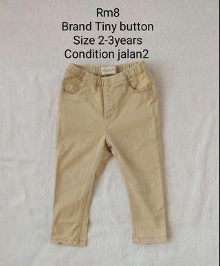 Tiny button pant